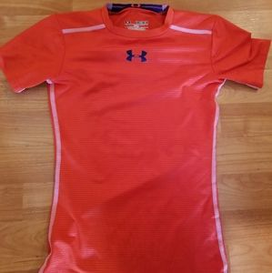 Under armour HeatGear fitted compression shirt